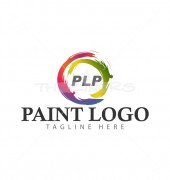 Custom Painting Manufacturing Premade Logo Design