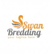 Elegant Swan Premade Non Profit Logo Design