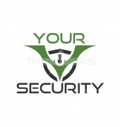 Your Security Company Production Logo Template
