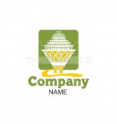 Royal Constructions Premade Housing Services Logo design