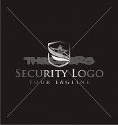 Star Security Protection Company Logo Template