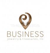 V Letter Logo Pendent Design