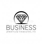 Diamond Sapphire Manufacturing Premade Logo Design