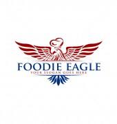 Simple Red Eagle Logo Design