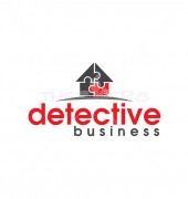 Detective Agency Logo Design Template