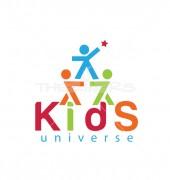 Happy Kids NGO logo Template