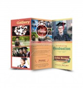 Elite Graduation Trifold Template