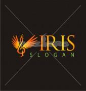 S Letter Stork Logo Template