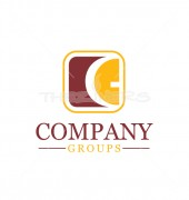 Letter CG Legal Company Professional Logo Template