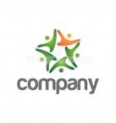 Human Network Logo Template