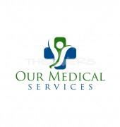 Medical Corner Healthcare logo Template