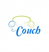 Cloud Couch Creation Logo Template