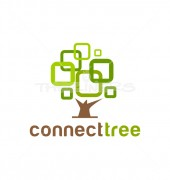 Abstract Tree Medical Solution Logo Template