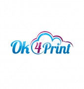 Ok 4 Print Inventive Media box Logo Template