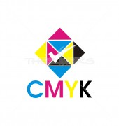 CMYK Entertainment Logo Template