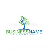 Medical Tree Abstract Solution Logo Template
