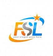 FSL Letter Logo Template