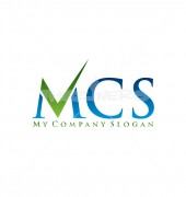 MCS Letter Sign Logo Template