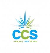 CCS Letter Sunshine Logo Template