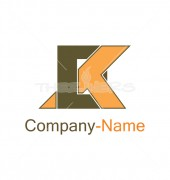 Logo Letter EK for Consultancy Services