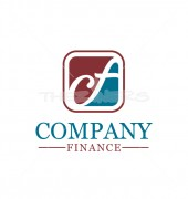 CF Letter logo for accounts and Finance services