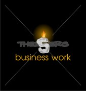 S Business Work Elegant Logo Template