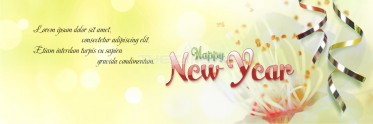 Elite New Year Social Banner Template