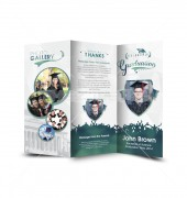 Creative Graduation Trifold Template