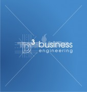 D Engineering Business Stylish Logo Template