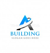 Big Building Stylish Logo Template