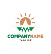 M Letter Logo Template