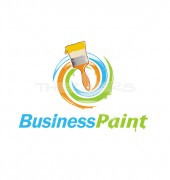 Paint Your Home Housing Logo Template