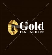 Golden Crests Letter Elite Logo Template