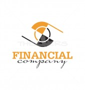Financial Eye Logo Template for marketing