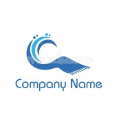 Carpet Cleaning Premade Logo Design