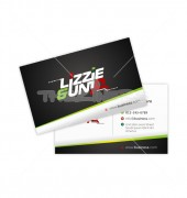 Stylish Font Professional Double Sided Business Card