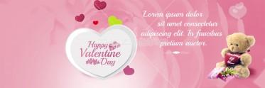 Elegant Valentine Festive Banner Design