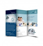 Diagnostic Center Trifold Template