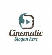 Cinematic Creative Product Logo Template