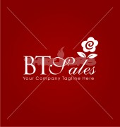 Flower Business Creative Floral Logo Template