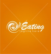 Eating Food Restaurant Logo Template
