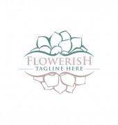 Flowerish Floral Logo Template