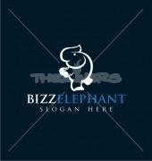 Elephant Inventive Animal Premade Logo Design