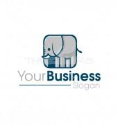 Elephant Animal Premade Logo Design
