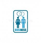 Business Chat Premade Non Profit Logo Design