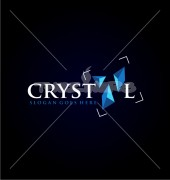 Crystal Creation Logo Template