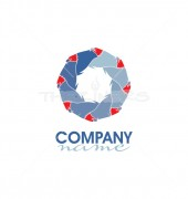 Bird Group Logo Template