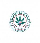 Leaf Medicine Inventive Health Care Logo Template
