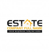 Housing Loan Creative Real Estate Logo Template