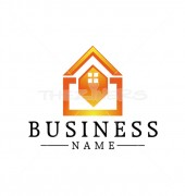 Home Creation Property solutions Logo Template